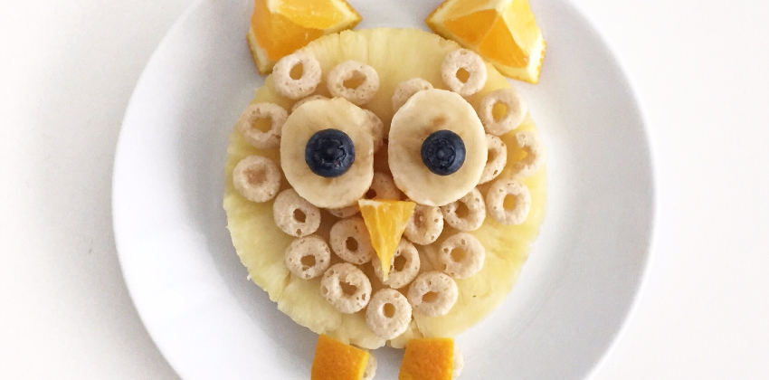 Go ahead and play with your food!